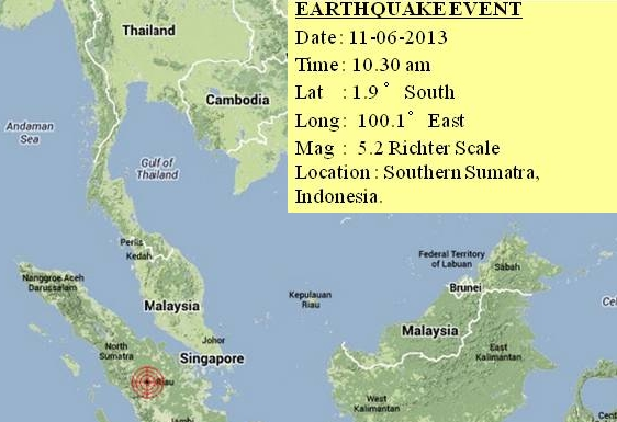 Sumatra Island Earthquake