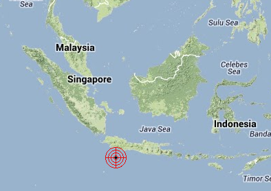 20130614 Java Earthquake