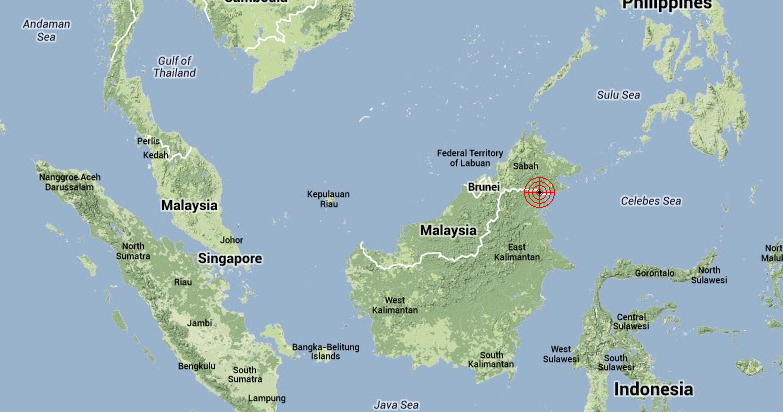 Borneo Earthquake