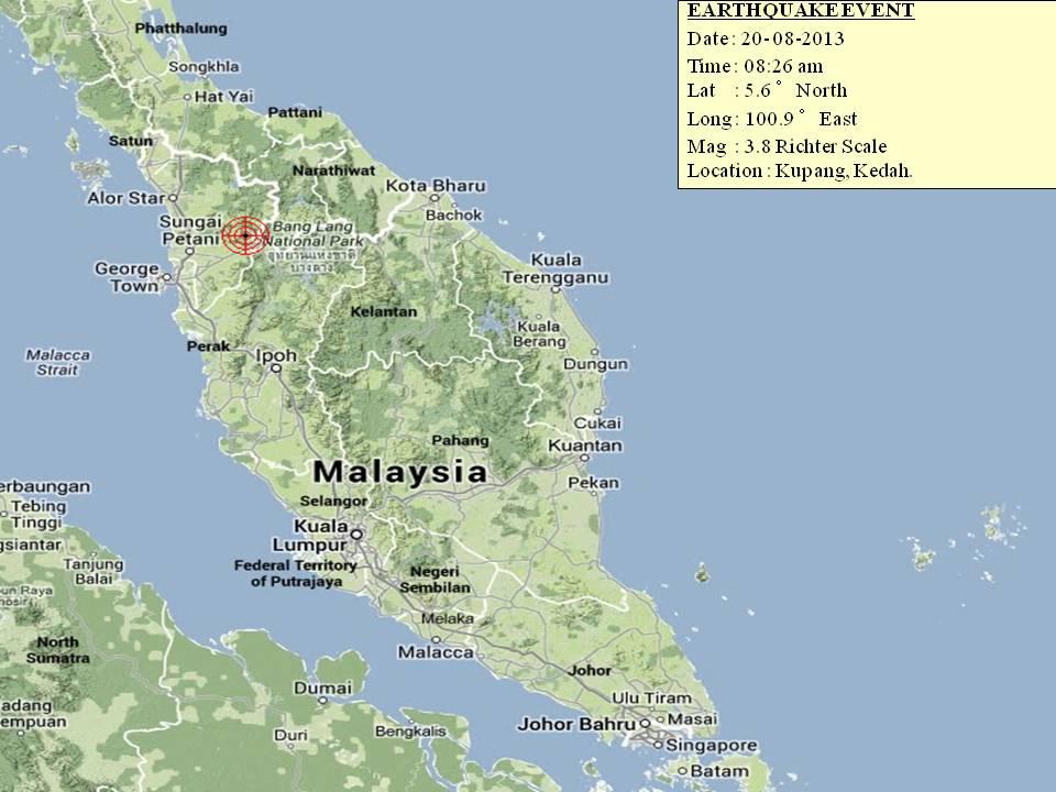 20130813 Kedah earthquake