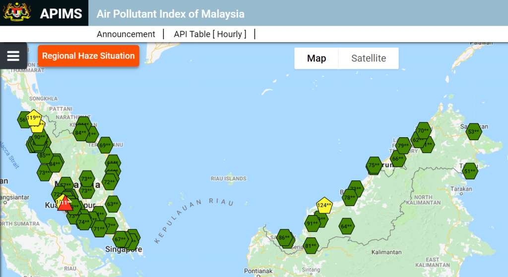 Malaysian Air Pollution Index Upgraded To Pm2 5 Marufish World Of Disaster Prevention